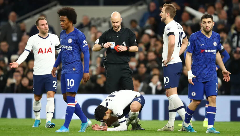 ล่าสุดทางสมาคมฟุตบอล อังกฤษ ได้ออกมาปฏิเสธคำยื่นอุทธรณ์ของทางทีม ท็อตแนม ฮ็อตสเปอร์ ในกรณีใบแดงของกองหน้าตัวเก่งของทีม ซอล ฮึง มิน