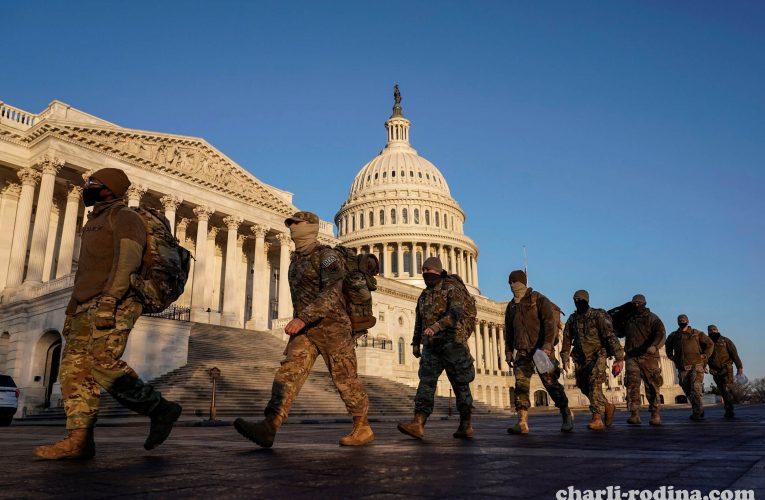 US tightens เพิ่มความปลอดภัยก่อนการเข้ารับตำแหน่งของโจไบเดน