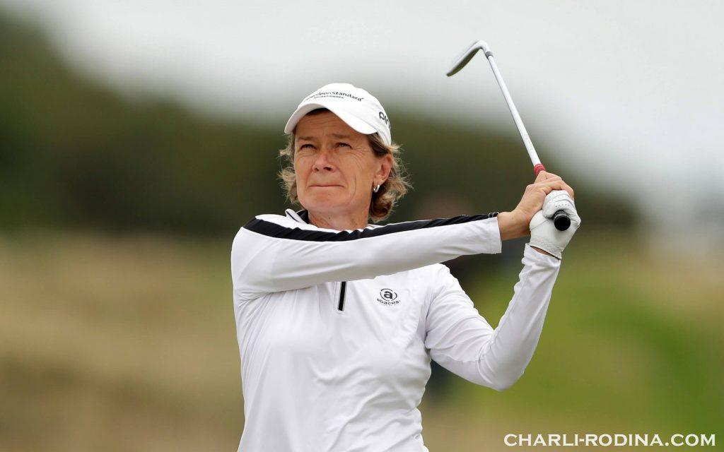 Catriona Matthew กัปตันทีม Solheim Cup ได้กล่าวชื่นชมความเข้มแข็งทางจิตใจของ Emily Pedersen หญิงชาวเดนมาร์กที่ครองตำแหน่ง