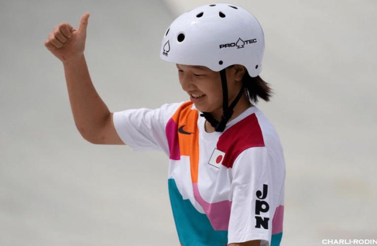 Nishiya เด็กน้อยวัย 13 ปี ของญี่ปุ่น คว้าเหรียญทองโอลิมปิก สเกตบอร์ด
