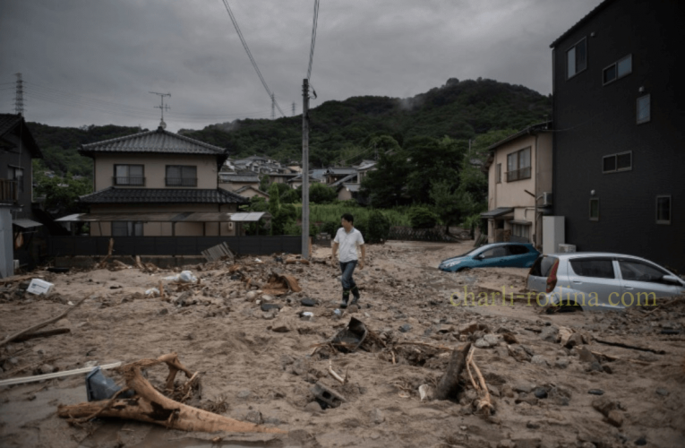 ญี่ปุ่น มียอดผู้เสียชีวิตจากเหตุการณ์น้ำท่วมเพิ่มขึ้นสูงถึง 50 รายที่ศูษย์หาย