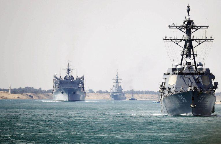 Iran , US warships ได้เผิชญความตึงเคลียดอีกในทะเลตะวันออกกลาง