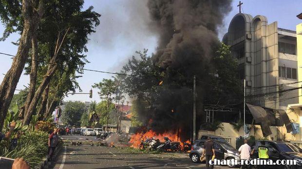 Indonesia on ได้ออกมาก้าวล้ำก่อนที่เทศกาลอีสเตอร์หลังจากที่เกิดเหตุคริสจักร