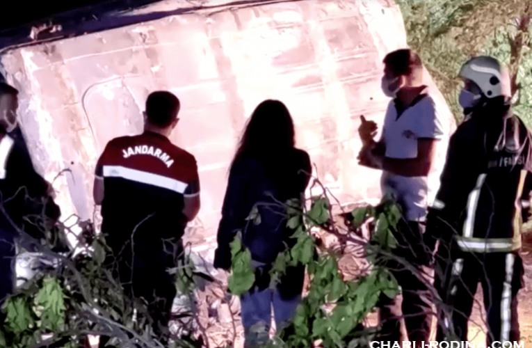 At least 12 killed รถบัสบรรทุกผู้อพยพในตุรกี เสียชีวิตอย่างน้อย 12 ราย