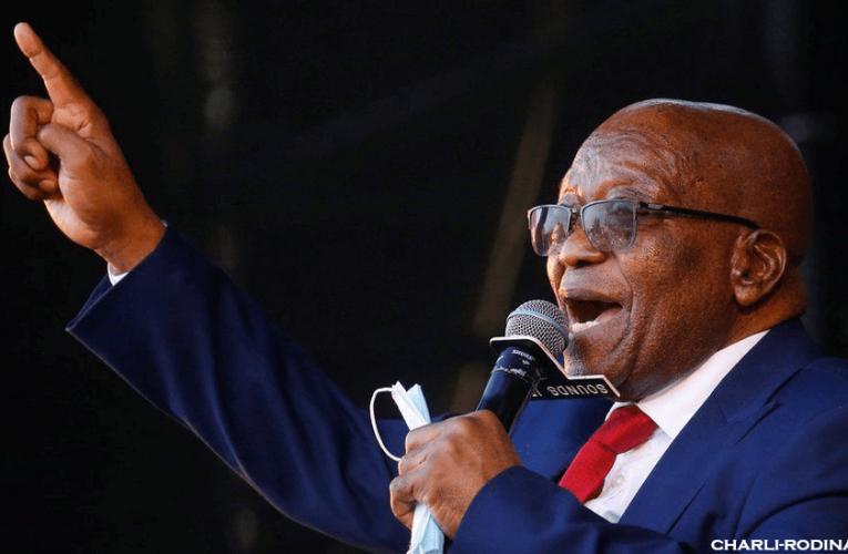 Jacob Zuma ได้เข้ามอบตัวให้กับตำรวจแอฟริกาใต้แล้วในตอนนี้